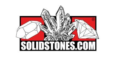 Logo Edelsteinbörse - Aufschrift: solidstones.com