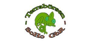 Logo Terraristikmesse - Aufschrift Terrabörsen - SoHo GbR