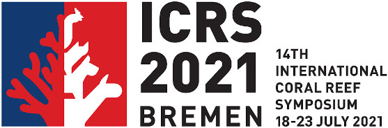 Logo ICRS 2021 - 14th International Coral Reef Symposium